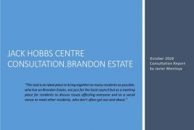 Jack Hobbs Centre Consultation Repo