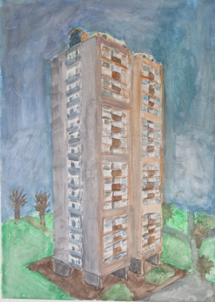 The Tower by Chibunkem Ugwuoke  - Click to vote