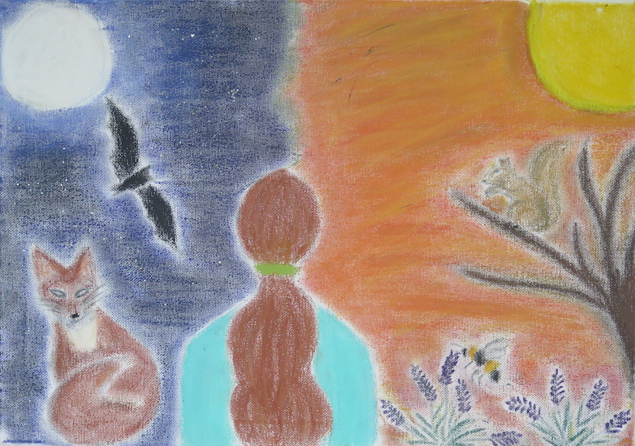 Day meets the night by Jessica Simaz - Click to vote