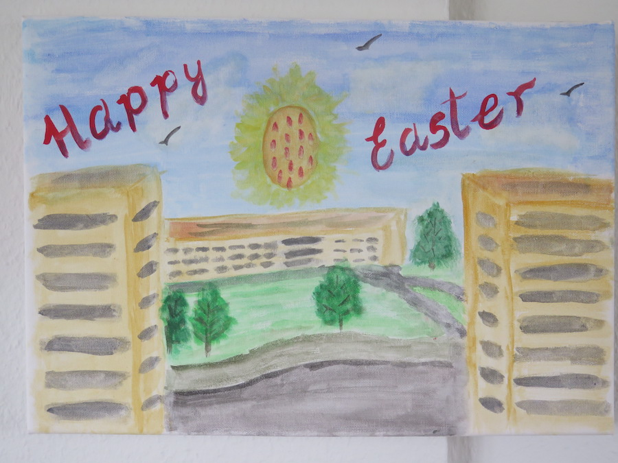 Happy Easter 2021 by Manuel Olivares - Click to vote
