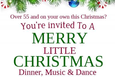 Over 55s Christmas Lunch 900x600